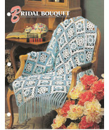 Bridal Bouquet Afghan Crochet Pattern Annies Attic Crochet & Quilt Club - $8.50