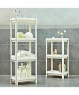 Rack Shelf Kitchen Side Plastic Storage Shelves Multi Functional House O... - $42.08+