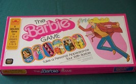 The Barbie Game by Golden 1980 Complete VGC - $9.00