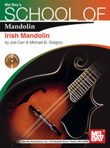 School of Mandolin: Irish/Book w CD Set/New - $16.99