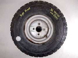 "86 HONDA TRX125 FOURTRAX RIGHT FRONT WHEEL RIM 8"" - $28.79"