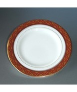 "Royal Doulton Imperial Bread & Butter Plate Red Banded 6.5"" Made in UK New - $14.90"