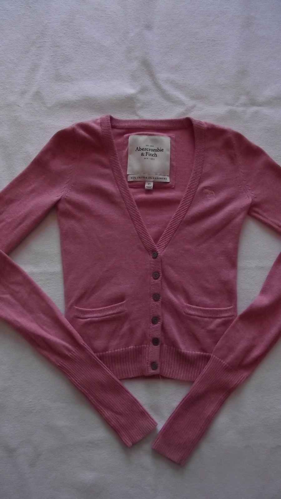 Abercrombie & Fitch women's/juniors xsmall Cartigan sweater image 4