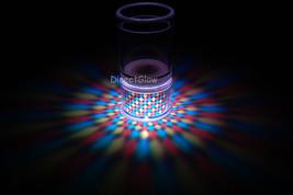 Set of 2 LiteRays LED Light Up Projection Shot Glasses- Spiral image 1