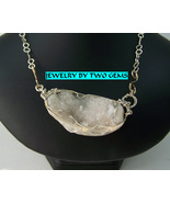 Jewelry by Two Gems (Wn82) Sterling Silver Wire Wrap Necklac - $61.00