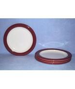 Mikasa Terracotta Band C2851 4 Salad Plates Color Compliments - $14.99