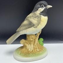 Lefton Chickadee figurine vintage porcelain statue sculpture bird kw6609 japan 2 - $23.76