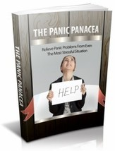 The Panic Panacea/be calm/resell rights/ebook on cd - $2.99