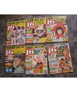 16 Magazine 1970s Donny Osmond David Cassidy Jackson 5 Elton John + More... - $65.00