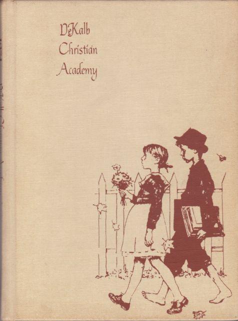 Dekalb Christian Academy, Atlanta, GA Yearbook 1974