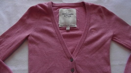 Abercrombie & Fitch women's/juniors xsmall Cartigan sweater image 2