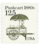 1985 12.5c Pushcart, Coil Scott 2133 Mint F/VF NH - £0.76 GBP