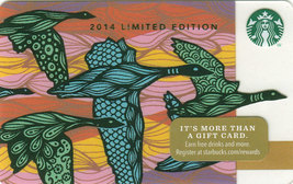 Starbucks 2014 Limited Edition Fall Migration Collectible Gift Card New ... - $3.99