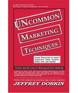 Uncommon Marketing Techniques: Thousands of Tips, Trick and Techniques i... - $4.95
