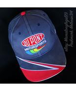Worn In Vtg Dupont Motorsports Jeff Gordon Signed Sharktooth Strapback H... - $15.59