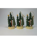 3 Dayspring Pine Tree Christmas Ornaments 29947 - $29.69