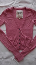 Abercrombie & Fitch women's/juniors xsmall Cartigan sweater image 3