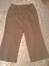 Austin Clothing Co. capri pants Size 16 uniform khaki shorts girls - $11.99