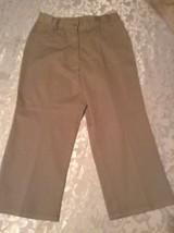 Austin Clothing Co. capri pants Size 16 uniform khaki shorts girls - $11.99