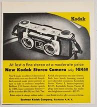 1955 Print Ad New Kodak Stereo Cameras Made in Rochester,New York . - $10.12
