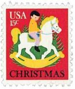 1978 15c Christmas Hobbyhorse Scott 1769 Mint F/VF NH - £0.74 GBP