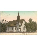 Swedish Church South Manchester Conn 1906 Vintage Post Card - $6.00