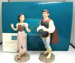 WALT DISNEY CLASSICS WDCC WHITE AND THE PRINCE Snow White Figure Rare Fr... - $742.49
