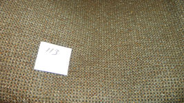Brown Gold Tweed Print Upholstery Fabric  1 Yard  R113 - $373,93 MXN