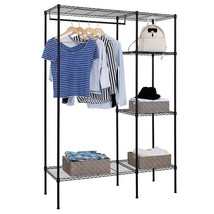 Shelving Garment Rack Closet Wardrobe Organizer... - $121.75