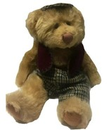 Russ Berrie Trousers Teddy Bear Bears From the Past Tweed Cap Tam Vest A... - $15.99