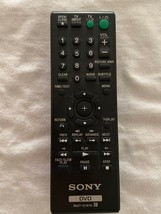 Sony DVD/TV Remote RMT-D197A (Missing Battery Cover) - $16.82