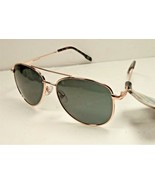 Foster Grant Tru Polar Color Enhancing Sunglasses UVA - UVB GLD Metal + ... - $19.79
