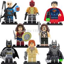 SA set DC Super Hero Batman vs. Superman minifigure blocks lego 8pcs Bri... - $22.98