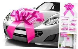 Thicker & Sturdier Big Car Bow (Pink, 30 inch), 30 Inch (Pack of 1) Pink - $22.84