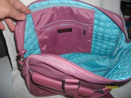 TUMI  Laptop Bag with Padded sides for Protection and many pockets - $125.00