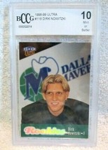DIRK NOWITZKI 1998-99 FLEER ULTRA DRAFT ROOKIE#118 BCCG10!MAVERICKS RC F... - $98.99
