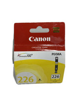 Canon CLI-226Y Yellow Ink Cartridge GENUINE *Brand New* 226 Y Pixma Series - $11.02