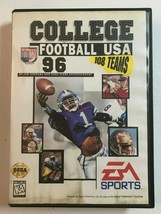 College Football USA 96 (Sega Genesis, 1995) Complete Game w/ Case & Manual - $10.99