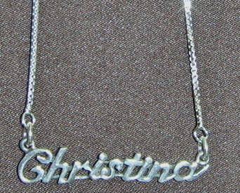 Namechristina box chain