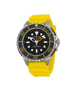 Nautica Men's Yellow Resin Stainless Quartz Black Dial Diving Watch A186... - ₹7,306.10 INR