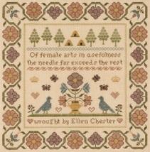 Of Female Arts cross stitch chart With My Needle image 2