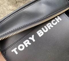Tory Burch Gemini Link Canvas Small Top Zip Tote image 9