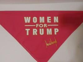 Trump 2020 Face Mask Bandana MAGA Women for Trump Hot Pink Bandana - $4.99