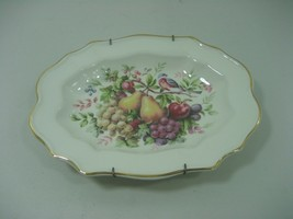 Vintage Hand Decorated By Enoch Wedgwood Decorative Collector Plate Flor... - $13.06