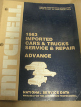 MITCHELL 1983 IMPORTED CARS & TRUCKS SERVICE & REPAIR ADVANCE - $9.99