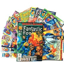 Fantastic Four 14 Comic Lot Marvel 1 2 3 4 5 6 7 8 9 10 12 13 14 16  - $39.55