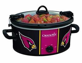 Crock-pot SCCPNFL600-AC Electric Cooking, Black/Cardinal - $76.71