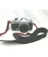 Nikon Nikomat FTN 35mm SLR Film Camera Body Only W/strap Meter works - $19.15