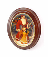 Christmas in Germany Franklin Mint by Gennady Spirin Oval Porcelain Coll... - $62.90