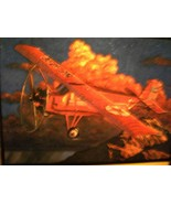 1929 CURTISS ROBIN AIRPLANE DIECAST METAL  WINGS of TEXACO MINT IN BOX - $27.72